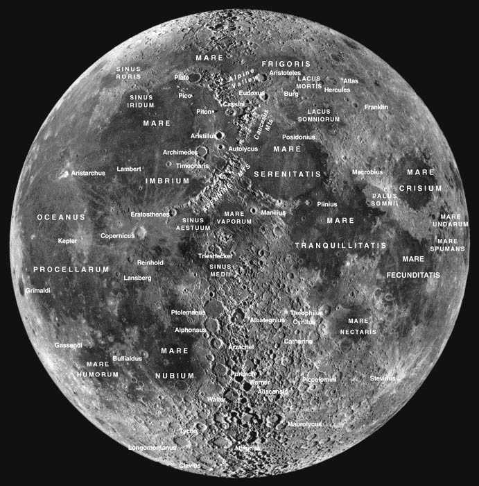 big moon map